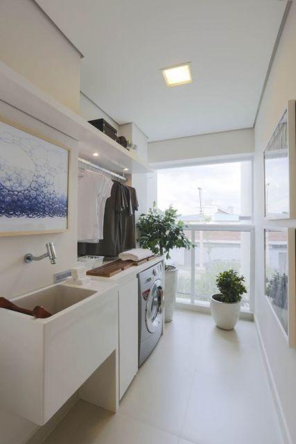 Decoração lavanderia apartamento
