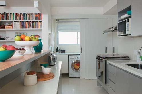 Cozinha cinza decoração