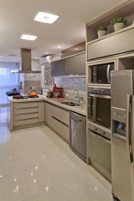 Decoração cozinha clara