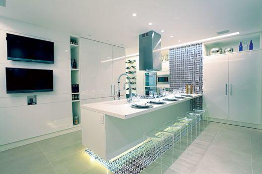 Cozinha moderna e clean