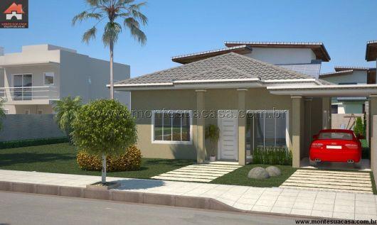 Casa térrrea com garagem lateral