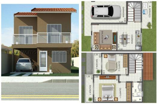 planos de casas lindas