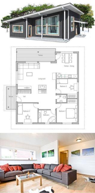Casa térrea madeira