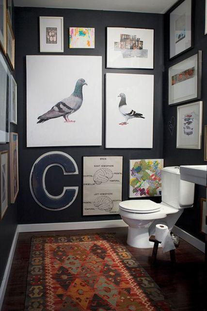 quadros para banheiro diversos