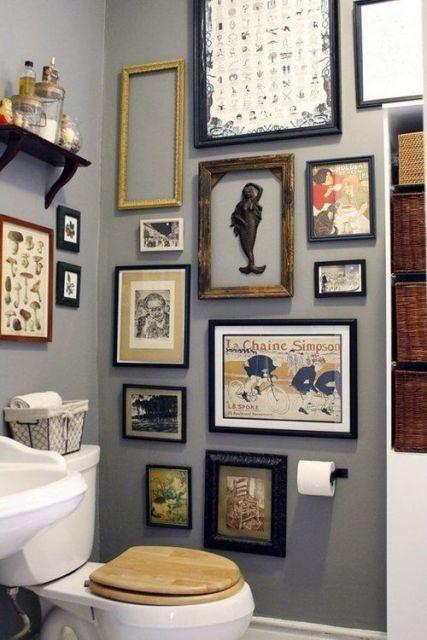 Quadros Para Banheiro E Lavabo Como Decorar E 30 Fotos
