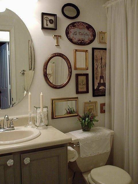 quadros para banheiro vintage