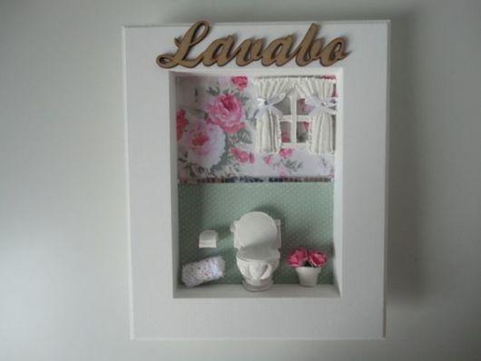 quadros para banheirona portas