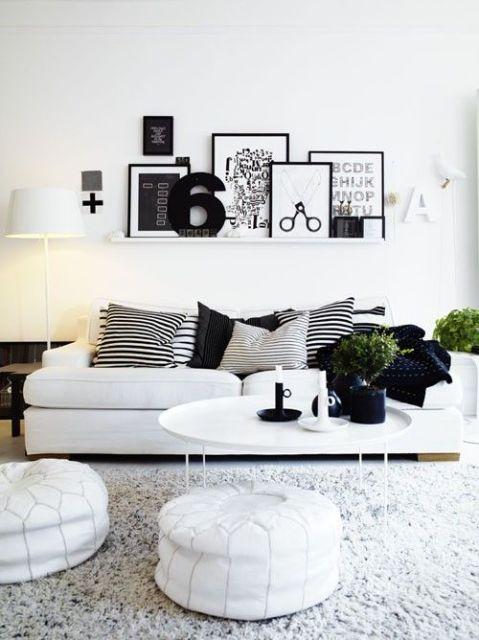 Quadros preto e branco