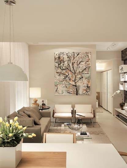 decoracao de sala jovem:Quadros para sala decorativos: 65 inspirações lindas!