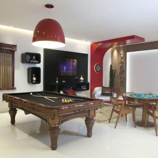 sala de jogos bonita elegante