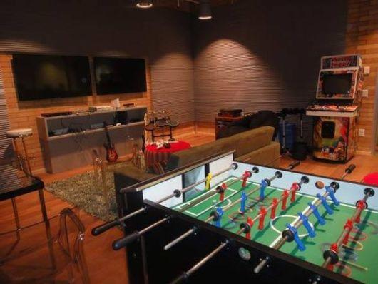 sala de jogos eletrônicos vídeo game