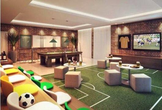 sala de jogos futebol