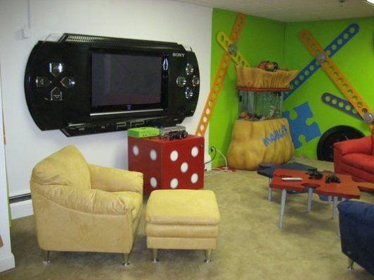 sala de jogos infantil