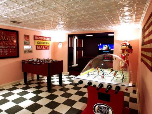sala de jogos linda
