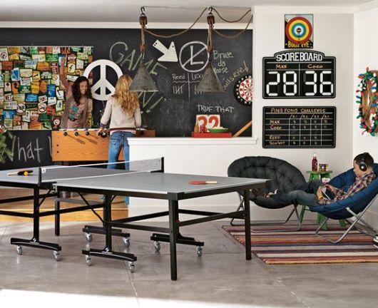 sala de jogos moderna