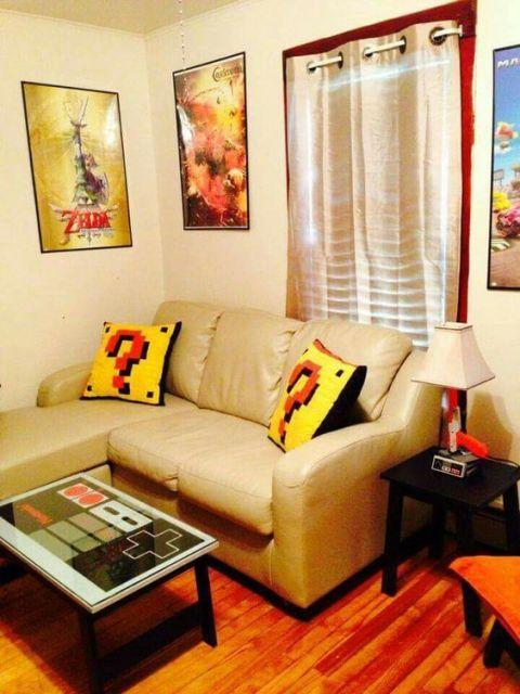 Sala De Tv E De Jogos ~ Sala de jogos decorada 50 opções incríveis para sua casa