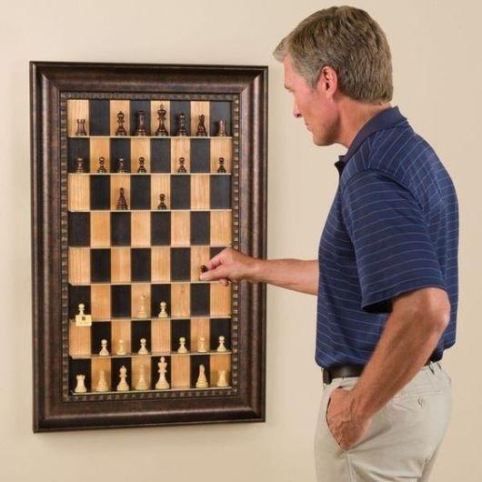 sala de jogos pequena xadrez