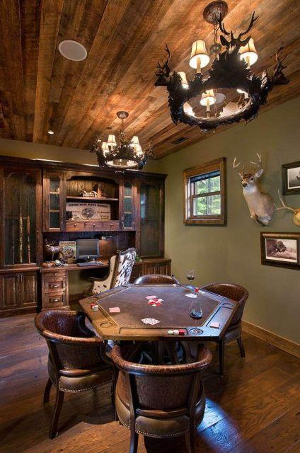sala de jogos pequena