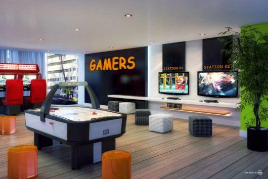 sala de jogos sonho