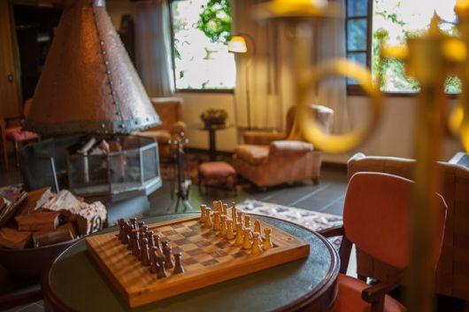 sala de jogos xadrez