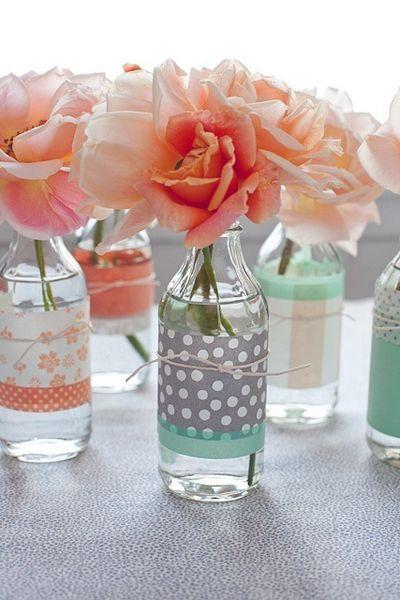 Vaso de garrafa simples