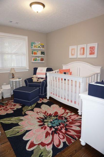 Cortinas para Quarto de Bebê branca