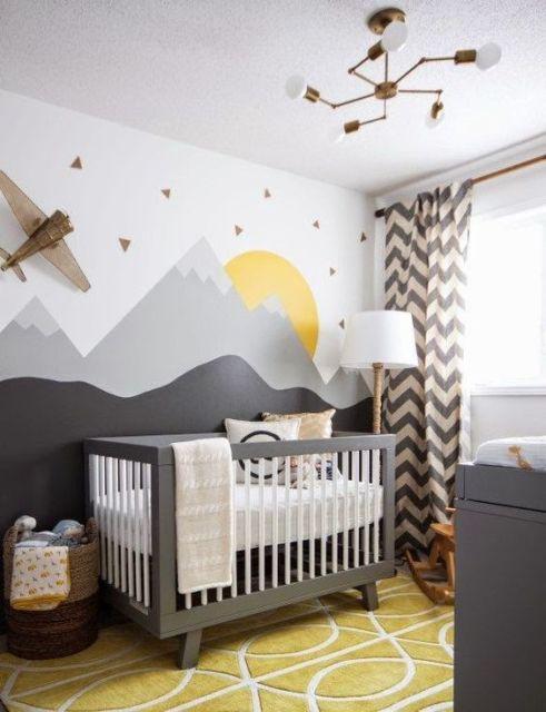 Cortinas para Quarto de Bebê colorida