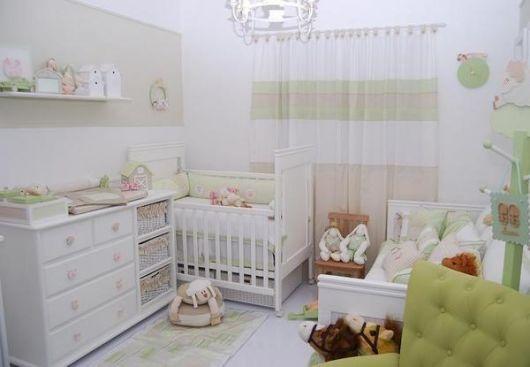 Cortinas para Quarto de Bebê cores suaves