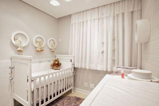 Cortinas para Quarto de Bebê curta