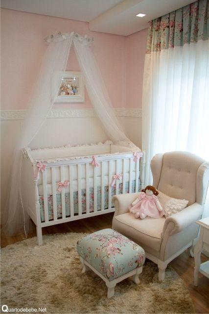 Cortinas para Quarto de Bebê meninas