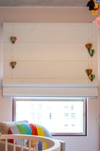 Cortinas para Quarto de Bebê persiana balões