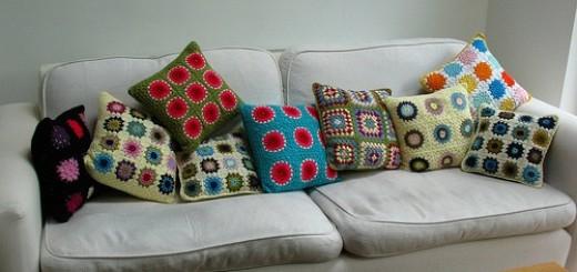 decoração sofá