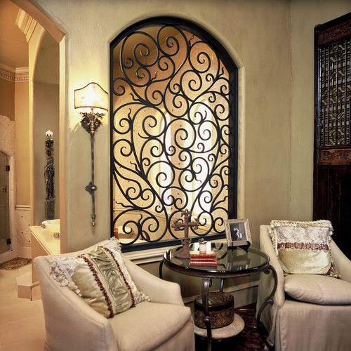 Used Iron Door Grill Designs Interior Wrought Iron Door: Arte Em Ferro: Como Decorar Ambientes E 38 Modelos Lindos