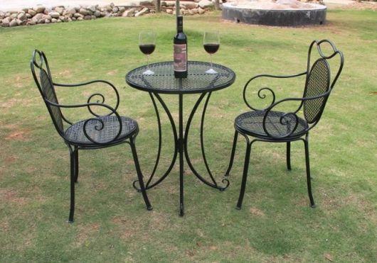 arte em ferro mesas e cadeiras