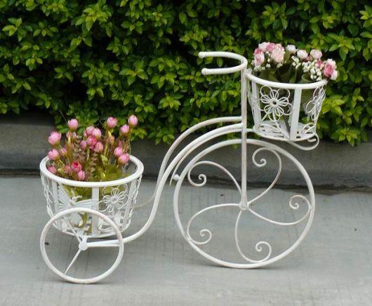 arte em ferro para flores