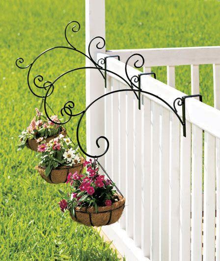 arte em ferro para segurar flores