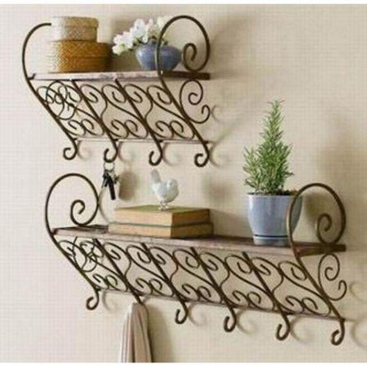 Artesanato Indiano ~ Arte em Ferro Como decorar ambientes e 38 modelos lindos
