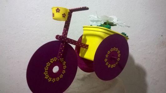 bicicleta decoração