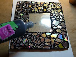 decoração moldura espelho