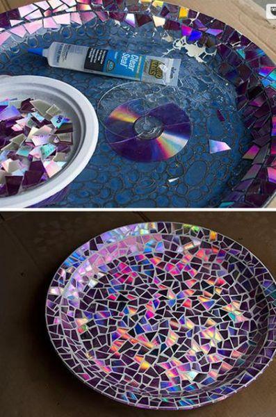 Loja De Materiais Para Artesanato Zona Norte Sp ~ Artesanato com CD 70 ideias de reaproveitamento e tutoriais!