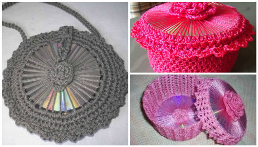 ideias com crochê