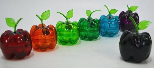 maças coloridas