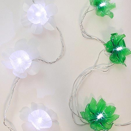 cordão de luzes simples