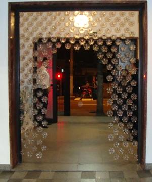 cortina porta
