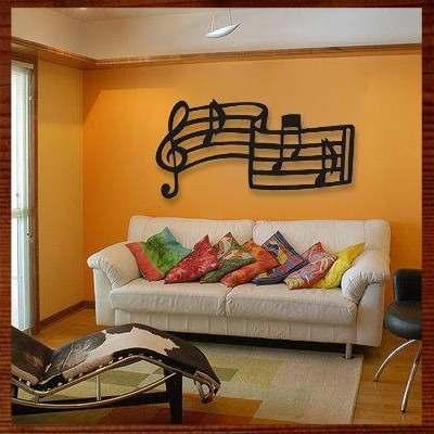 parede laranjada