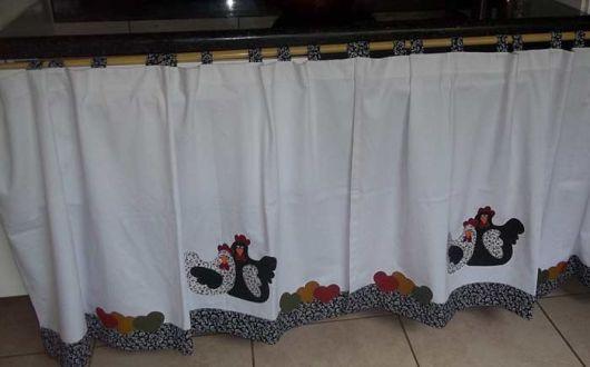 cortina para pia