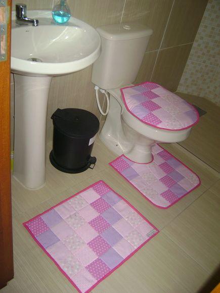 Kit Banheiro Em Tecido : Artesanato em tecido ideias incr?veis e passo a