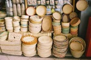 artesanato nordestino feito de palha