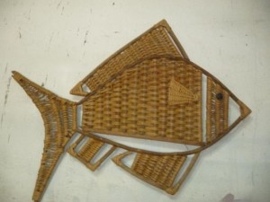 artesanato nordestino de palha para decorar paredes
