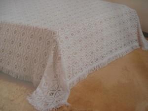 artesanato nordestino colcha de cama de renda